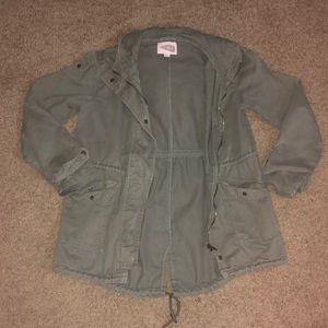 Hunter Green Utility Jacket (Medium)